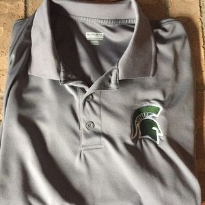 Other - Gray Spartans polo shirt XXL no snags